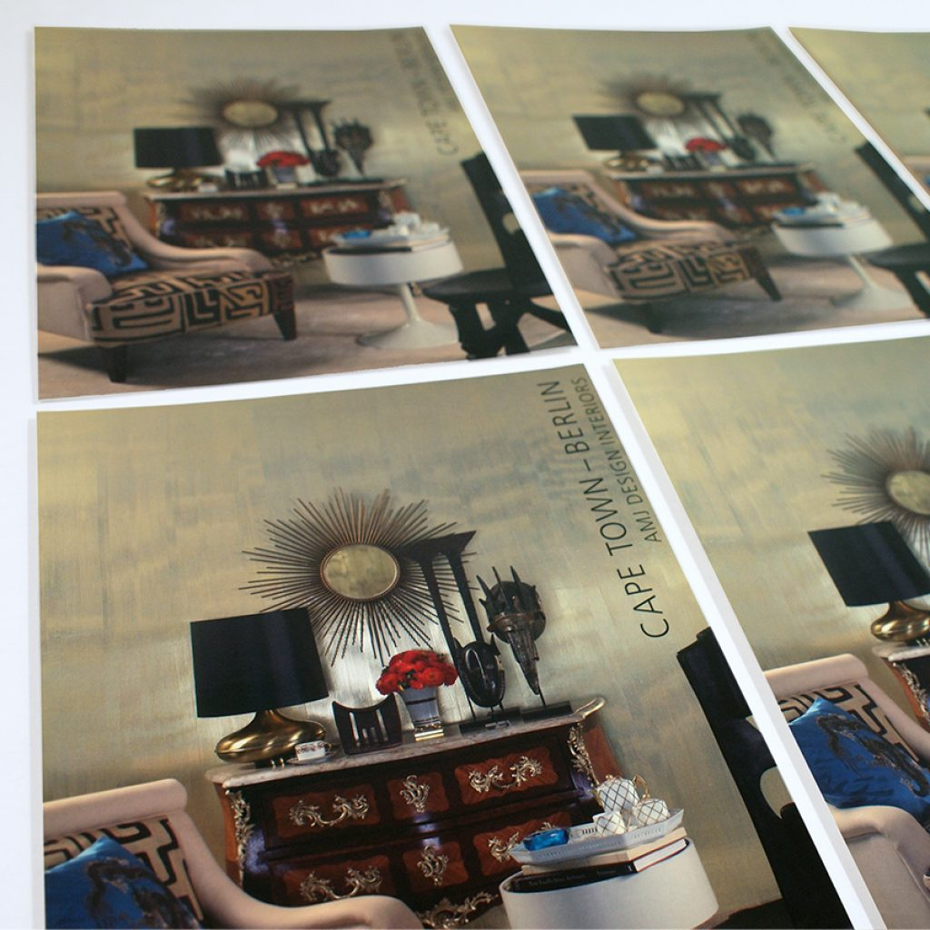 Imagebroschüre für die AMJ Design GmbH