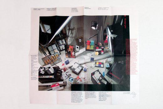 Plakat zur Ausstellung von Design pur, Berlin