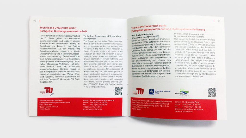 Begleitbroschüre zur Messe Wasser Berlin 2017