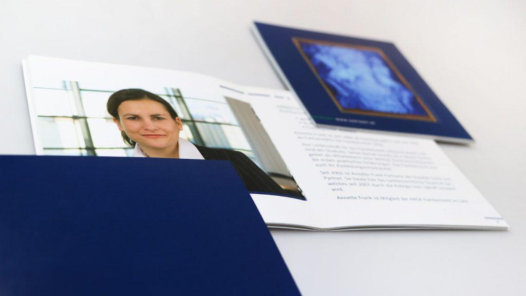 Gentz und Partner Imagebroschüre