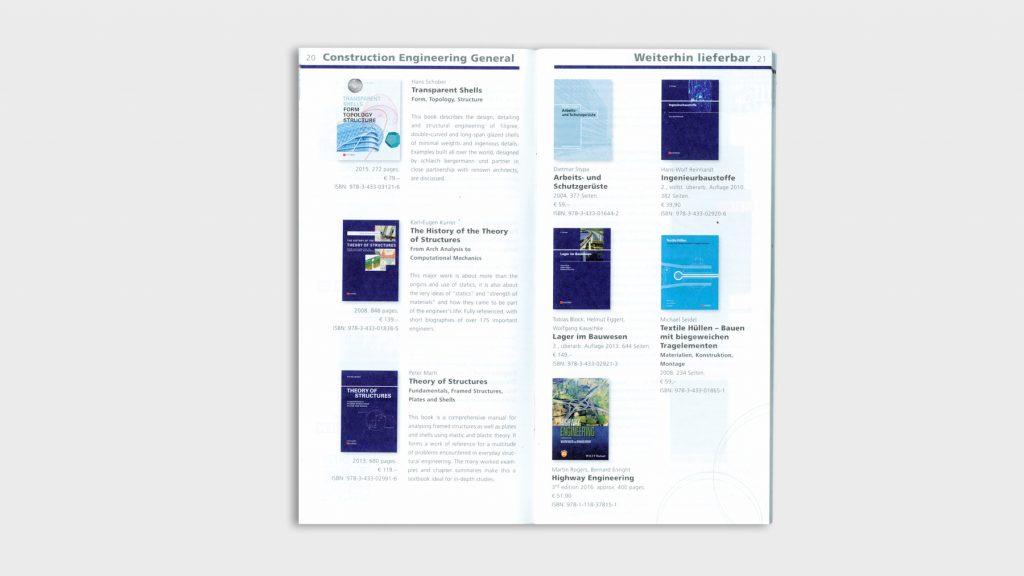 Gesamtverzeichnis für den Wissenschaftsverlag Ernst & Sohn