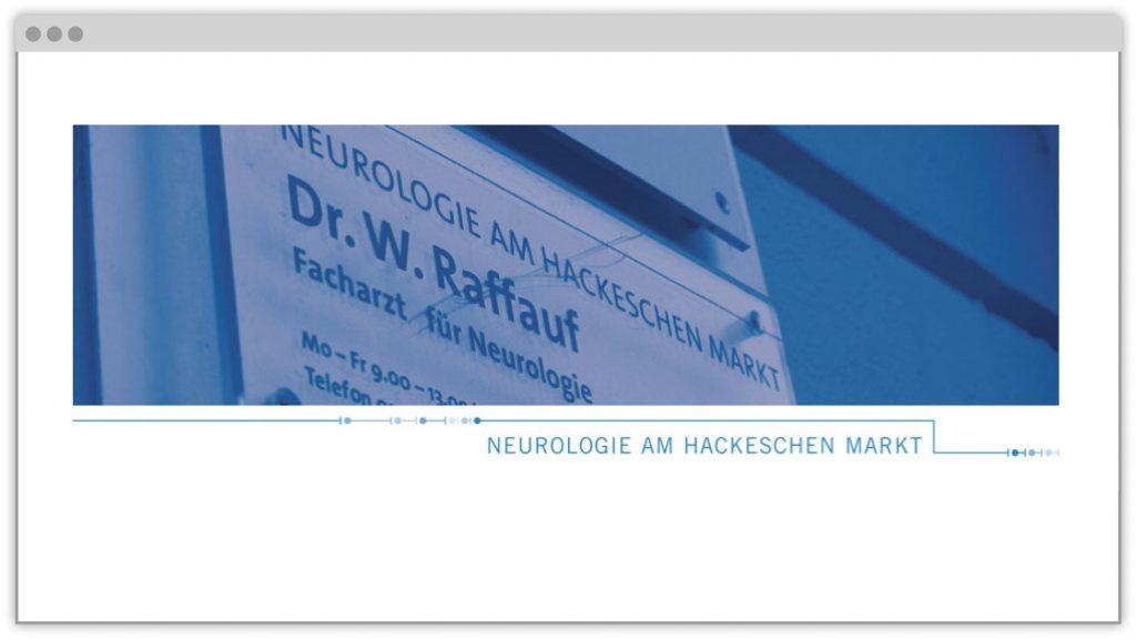 Relaunch des Internetauftritts der Neuropraxis Mitte