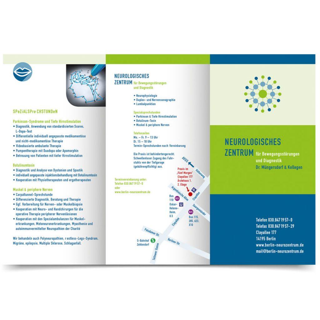Corporate Design für das Neurologische Zentrum