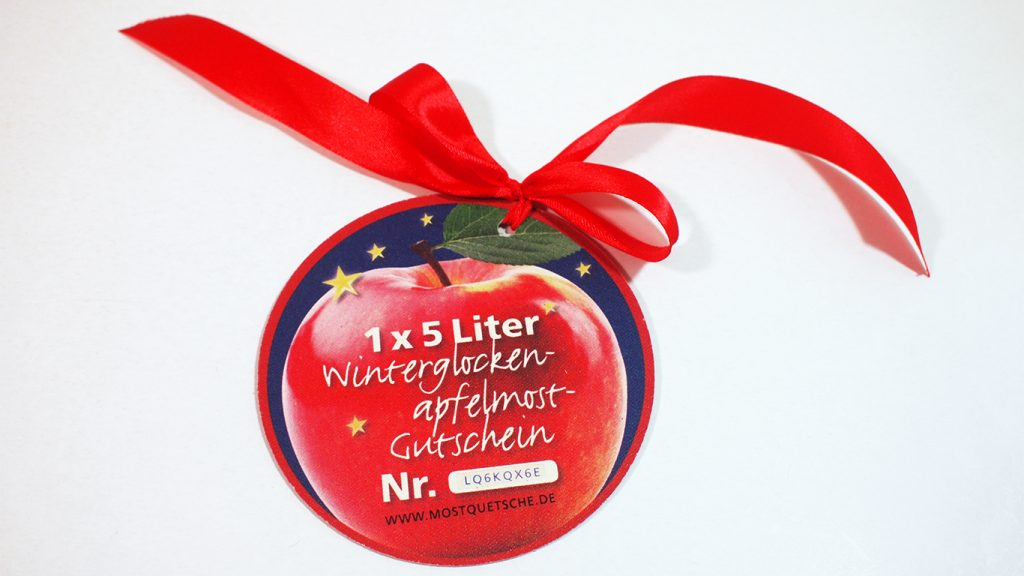 Gentz & Partner Weihnachtspräsent