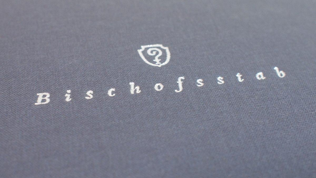 Designanwendungen für das Restaurant Bischofsstab