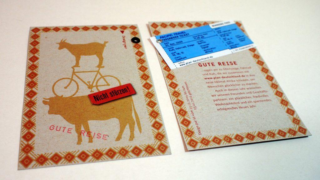 design pur Weihnachtskarten