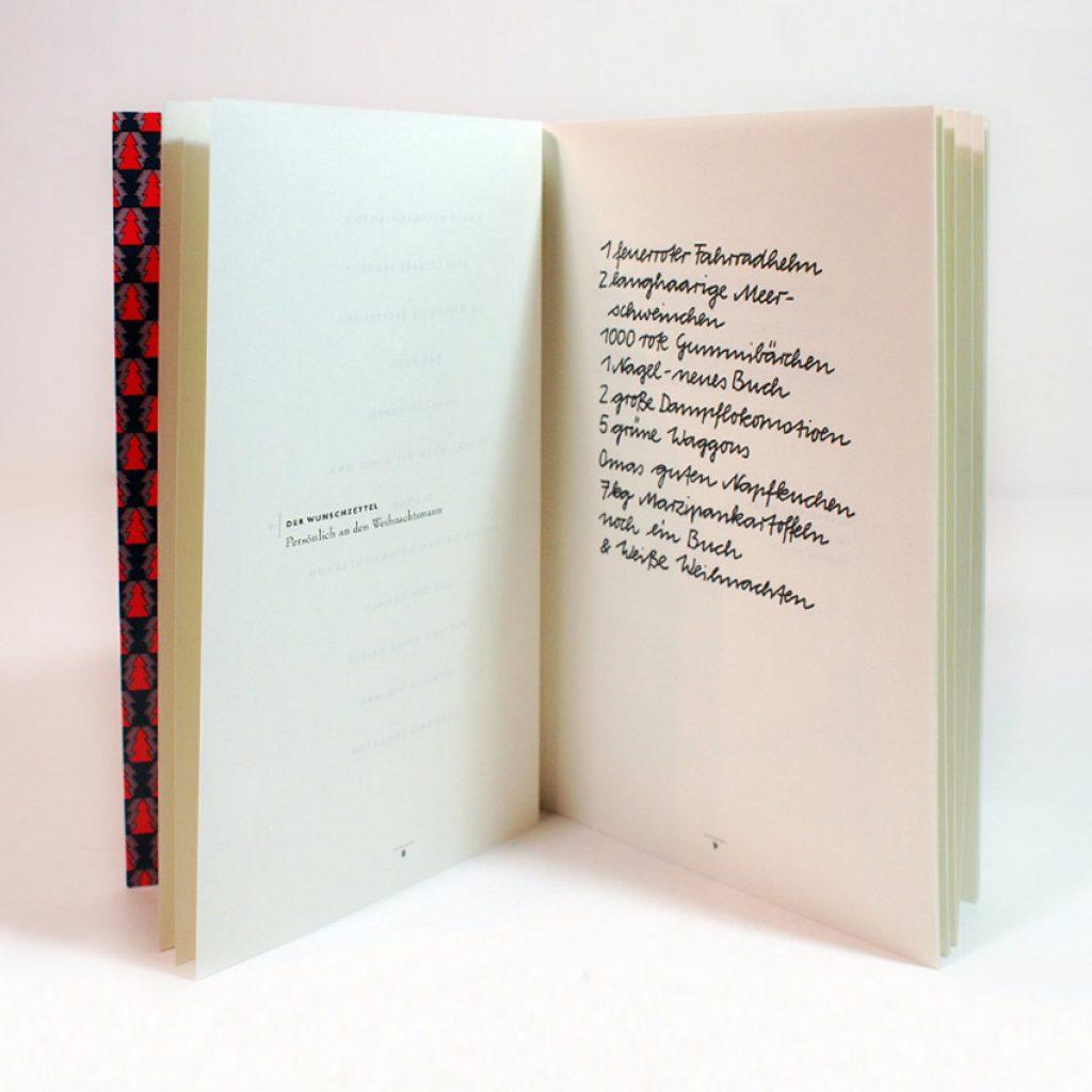 Imagebroschuere Typografie