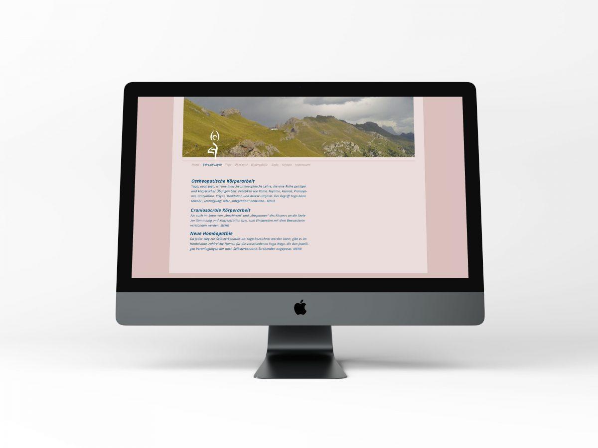 """Relaunch der Website für die Heilpraxis in der Remise """"Heilremise"""""""
