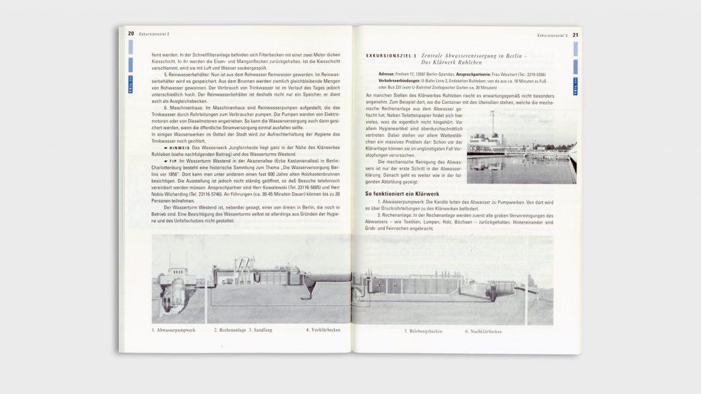 Serie von vier Broschüren