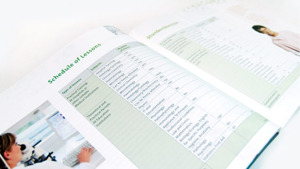 Informationsbroschüre für das Deutsche Institut zur Weiterbildung