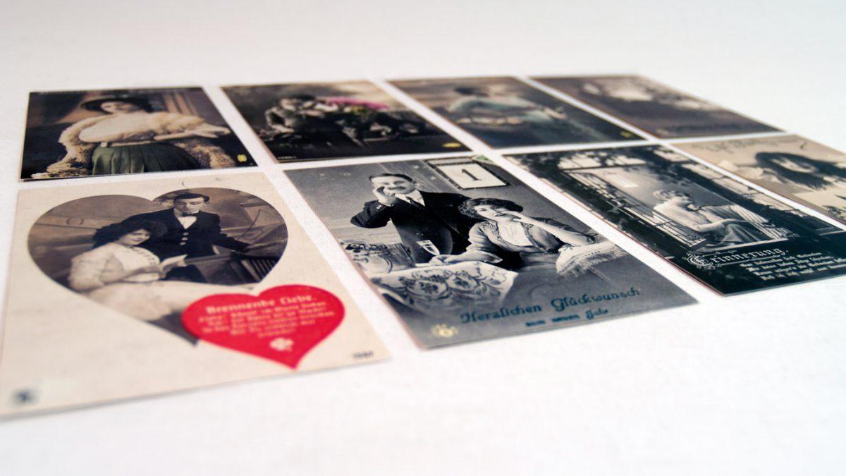 Postkartenserie als Weihnachtsgrüße